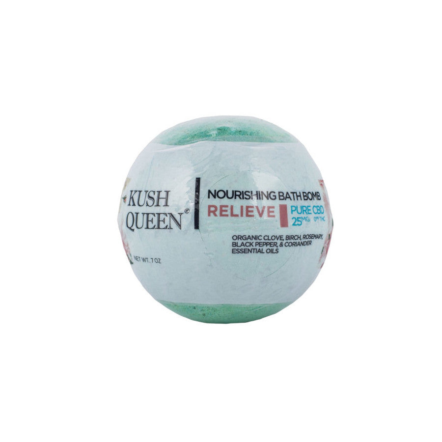 Relieve CBD Bath Bomb - 25mg