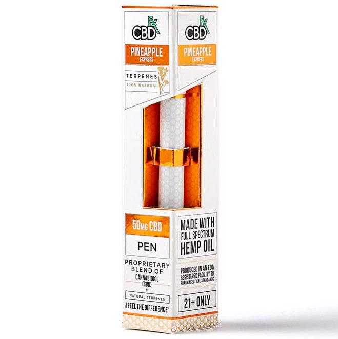 Terpene Infused CBD Vape Pen - Pineapple Express - 50mg