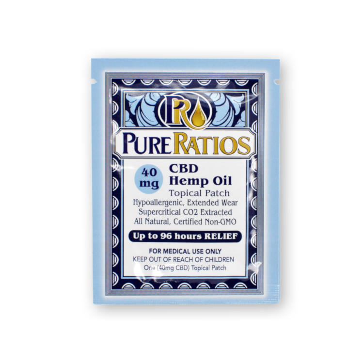 Transdermal CBD Patch (1x) - 40mg