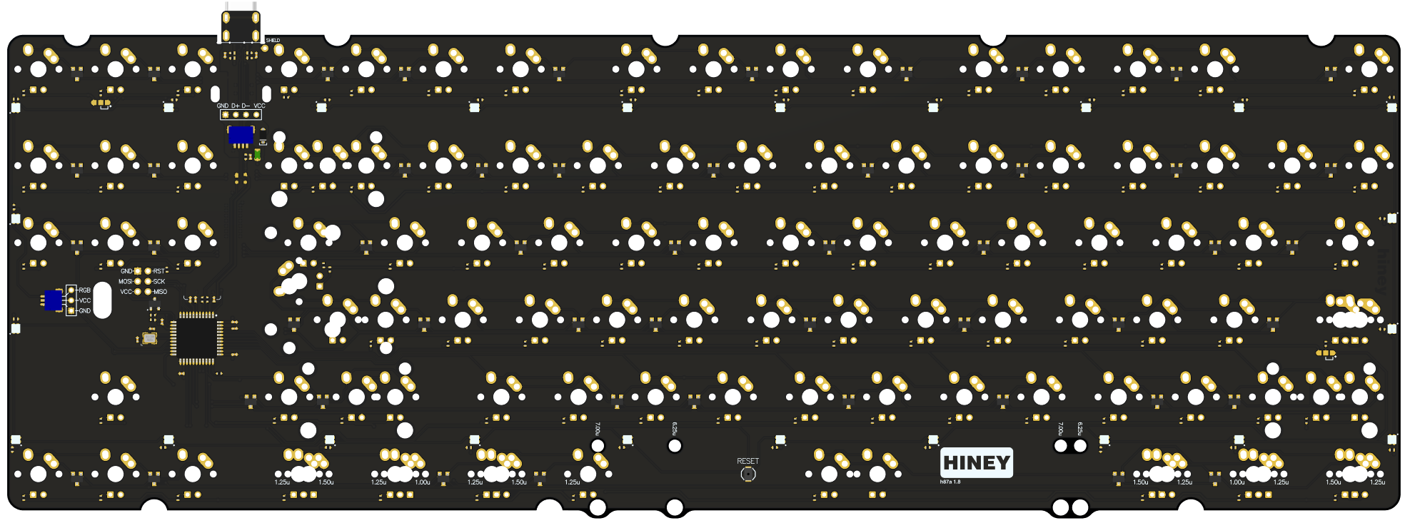 [GB] Hiney h87a 1.8 PCB