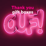 Thank you Gift Boxes*