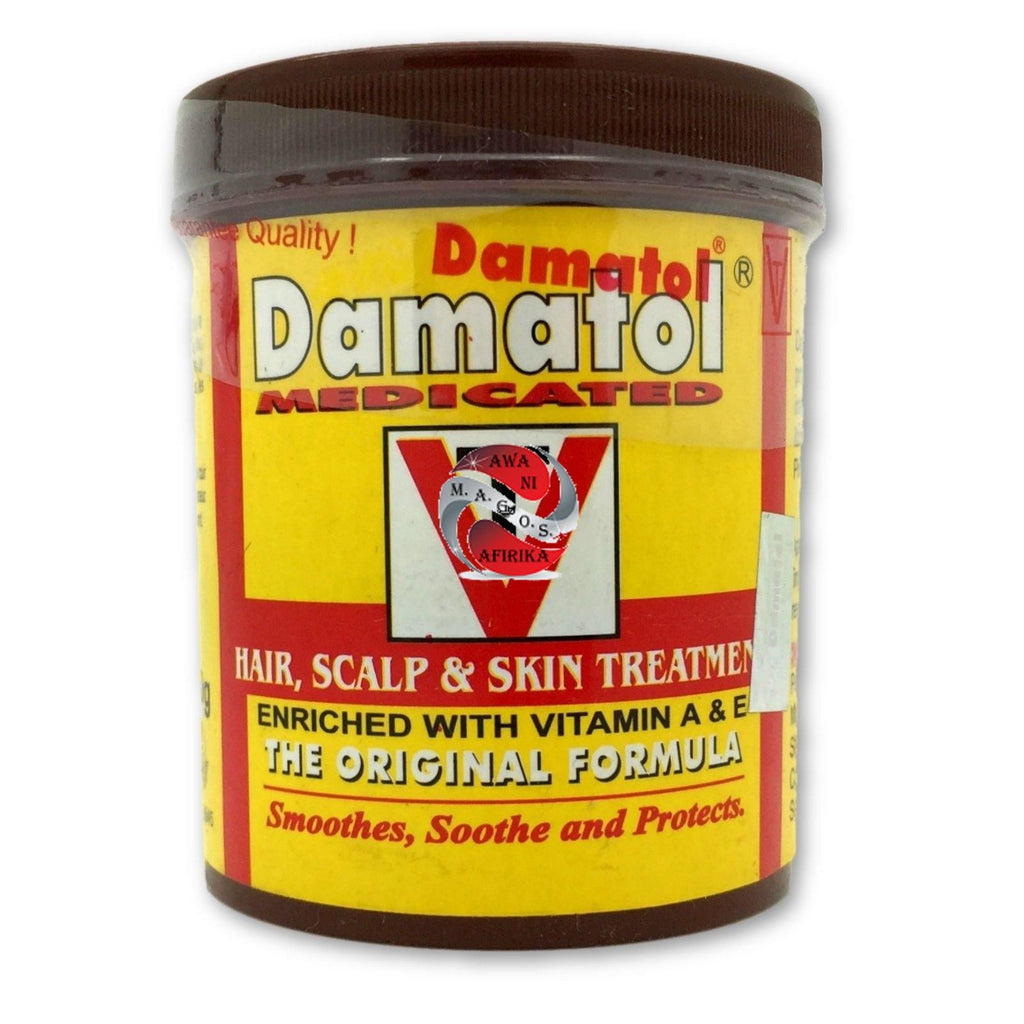 Damatol Medicated Original Formula Hair Scalp & Skin Treatment (110g) - | M.A.G.O.S. affordable African imported goods, authentic designer clothing, name brand fashion wear