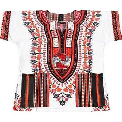Children's African Dashiki Print Shirt - Popular African and Designer Brands Goods