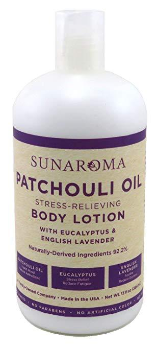 Patchouli Oil Body Lotion