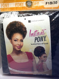 Afro Kinky Instant Pony - | M.A.G.O.S. authentic name brand fashion clothing, genuine designer fashion accessories, imported African products