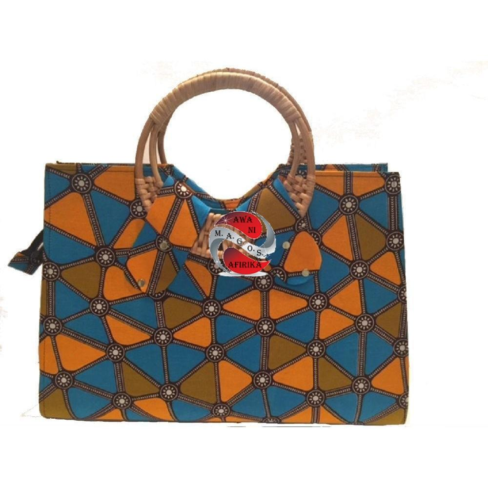 African Designer Print Patch Patch Dashiki Handbags - | M.A.G.O.S. African accessories men, African print accessories, traditional African headscarf