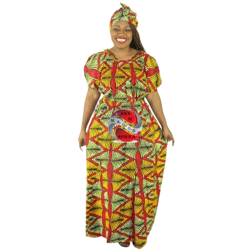 Women's African 3 Piece Skirt Set