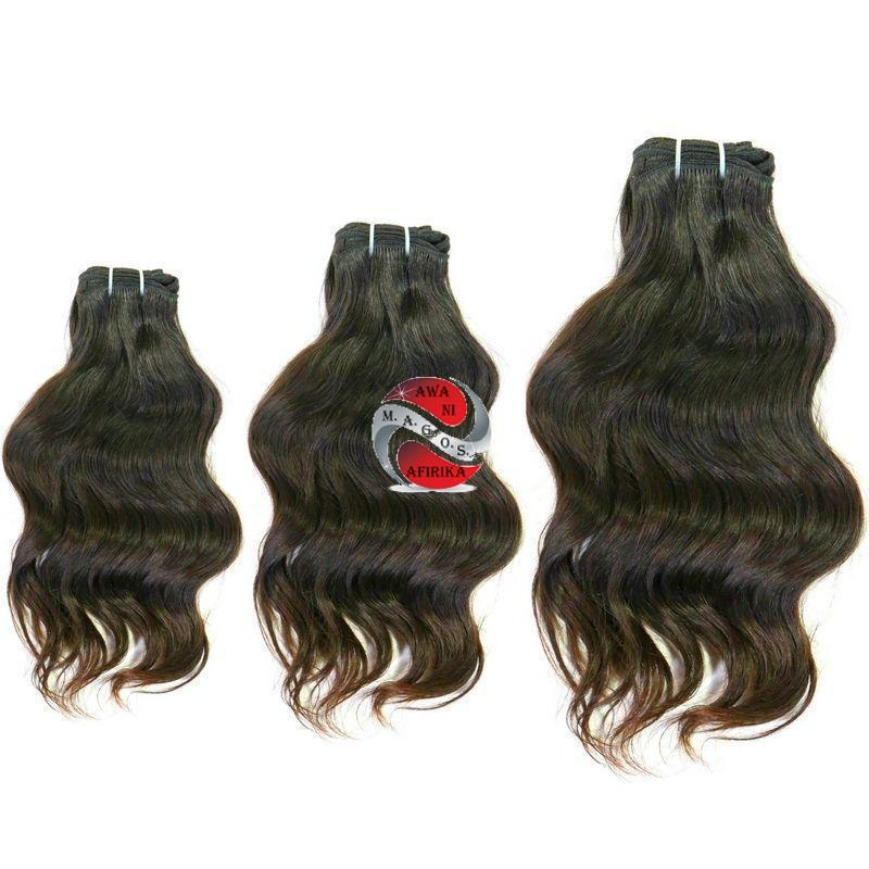 Wavy Indian Hair Bundle Deal - | M.A.G.O.S. affordable African imported goods, authentic designer clothing, name brand fashion wear