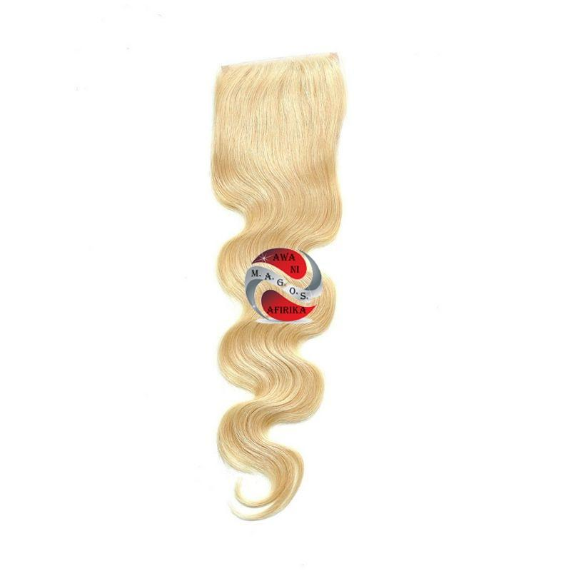 Russian Blonde Closure - | M.A.G.O.S. affordable African imported goods, authentic designer clothing, name brand fashion wear