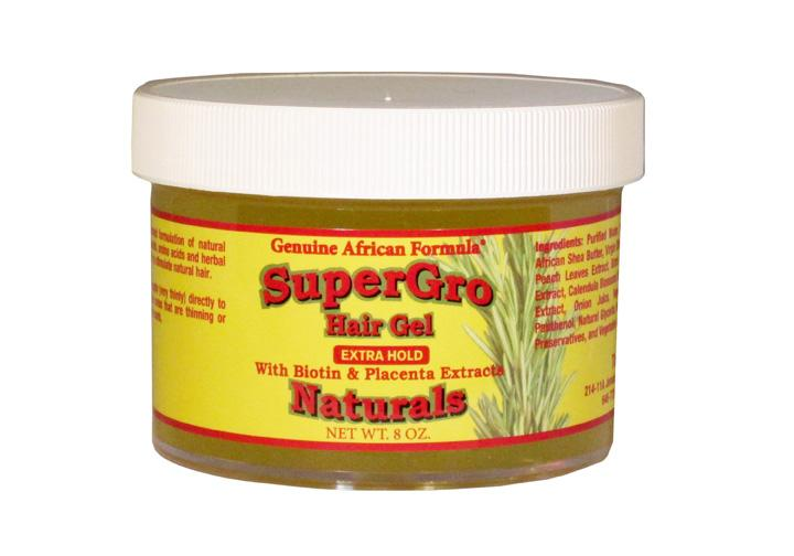 Genuine African SuperGro Hair Gel Extra Hold