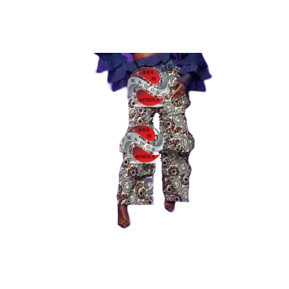 Authentic African Ankara Print Multi Tiered Pant
