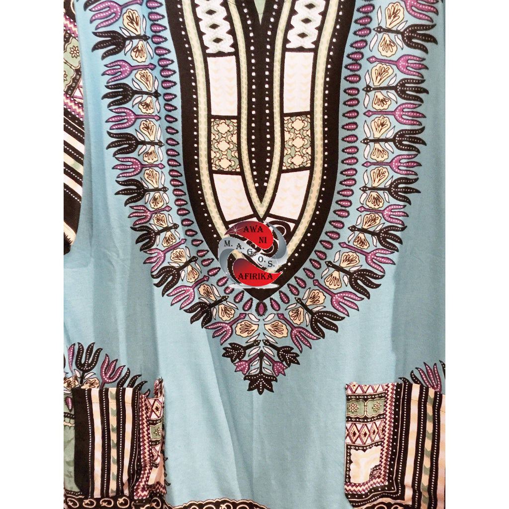 Traditional Dashiki Print 2pc Short Set - | M.A.G.O.S. African print pants for ladies, African print shirts for ladies, African print mermaid dress