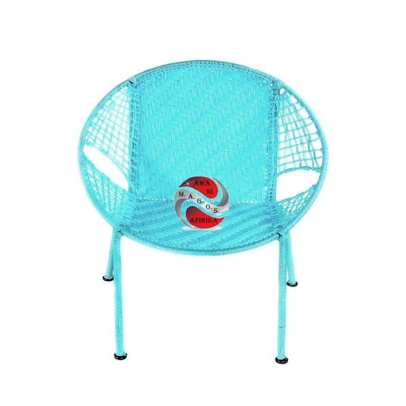 Blue Petite Children's Peekaboo Chair