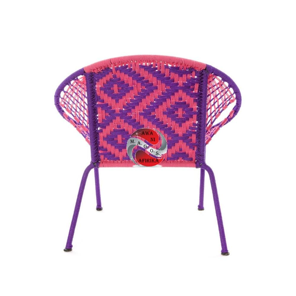 Purple & Pink Petite Children's Peekaboo Chair