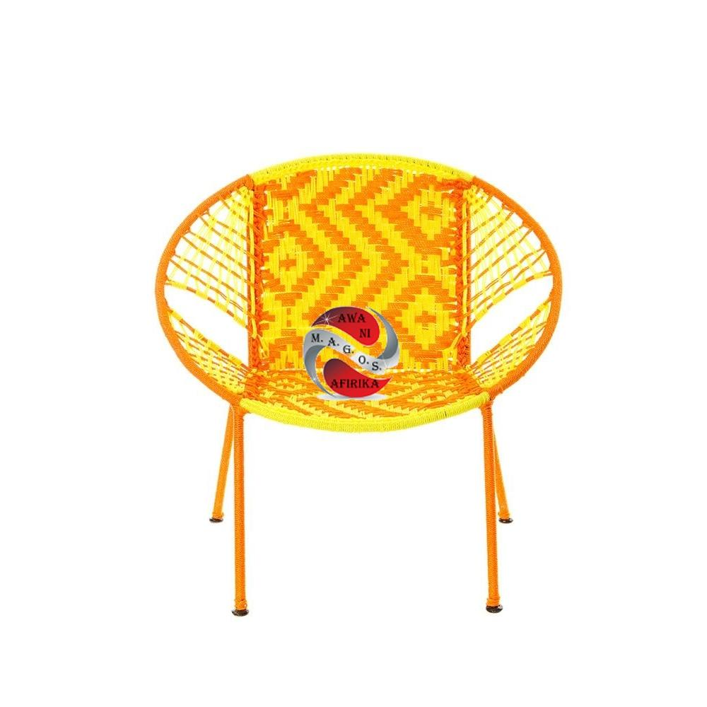 Yellow & Orange Petite Children's Peekaboo Chair