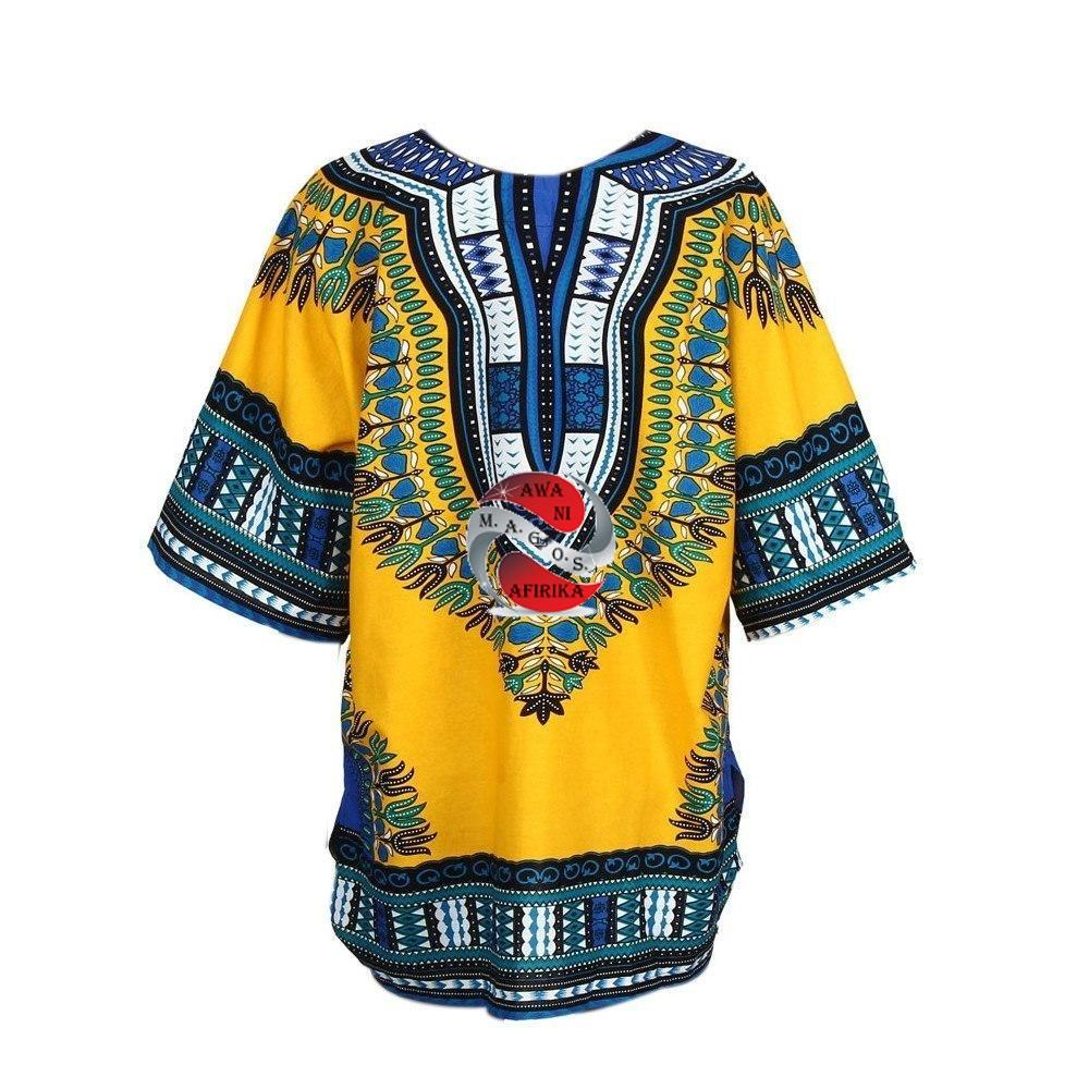 African Print Dress Shirt - | M.A.G.O.S. African print pants for ladies, African print shirts for ladies, African print mermaid dress