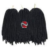 Nubian Twist Short Synthetic Crochet Braids - | M.A.G.O.S. affordable African imported goods, authentic designer clothing, name brand fashion wear