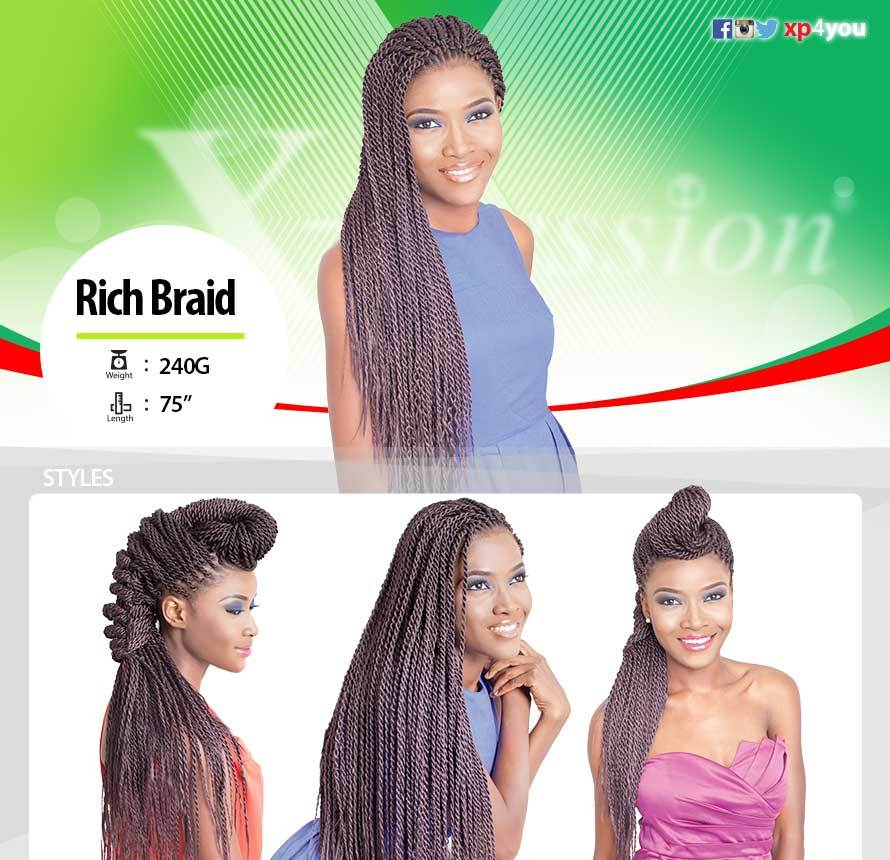 BEST QUALITY X-PRESSION RICH BRAID COLLECTION - Popular African and Designer Brands Goods