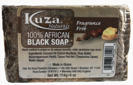 100% African Black Soap Fragrance Free