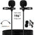 PoP voice Premium 16 Feet Dual-head Lavalier Microphone
