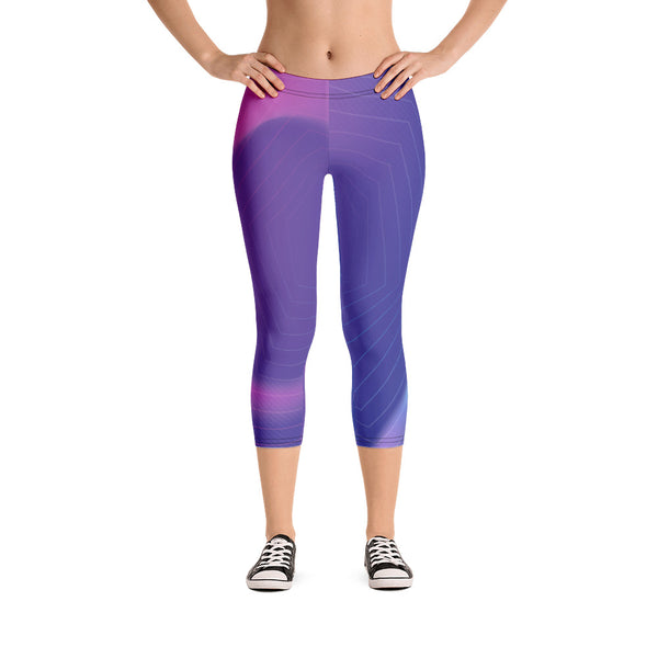 Neon Capri Leggings