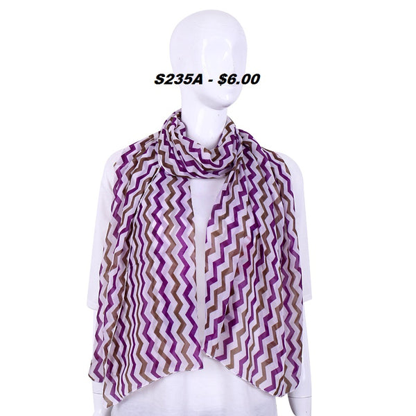 S235A PURPLE ZIGZAG