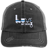 Hats Black/Grey / One Size Love My Hero Things - Police Embroidery Trucker Cap - IF17-IC17-DS37