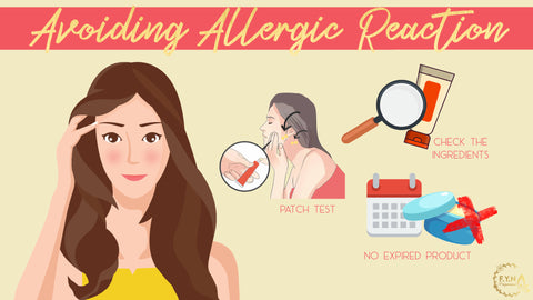 3 Simple Steps Avoiding Allergic Reaction by F.Y.N Professional