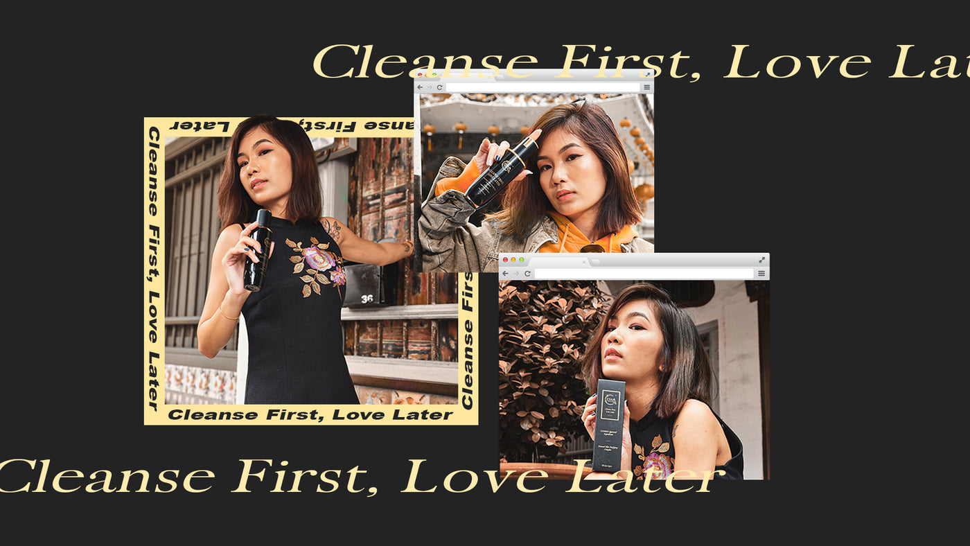 FYN Professional Cleanse First, Love Later. A Malaysian natural and organic skincare for acne and many other skin concerns.