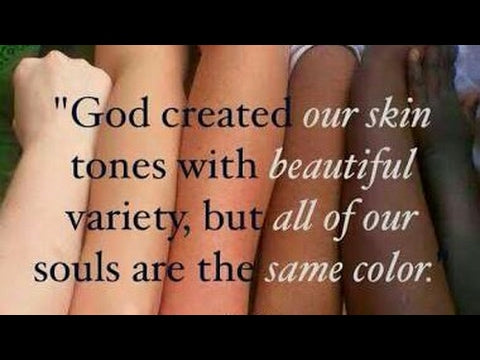 Beauty is within the soul not skin colour by F.Y.N Professional
