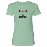 Proud Nurse womens T-shirt