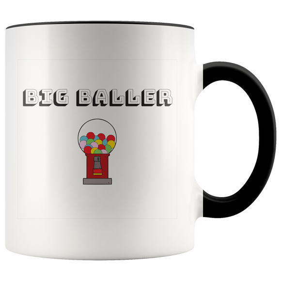 Big Baller Multi-color 11oz coffee mug
