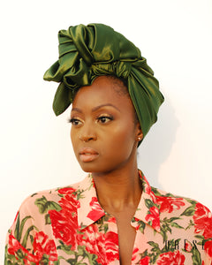 Olive Jade Silky Headwrap