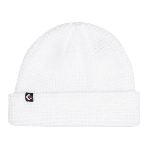 Thermal Knit Beanie White