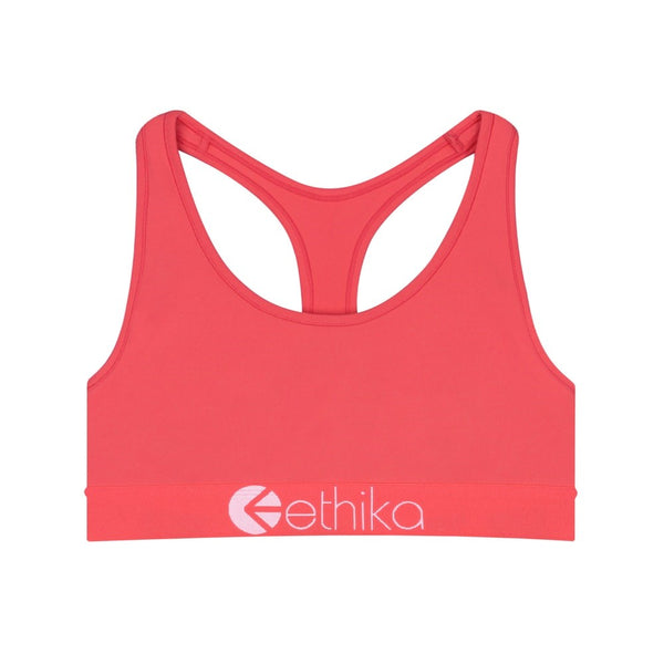 Subzero Performance Coral Girls Sports Bra