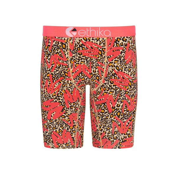Boys YM Leopard Staple