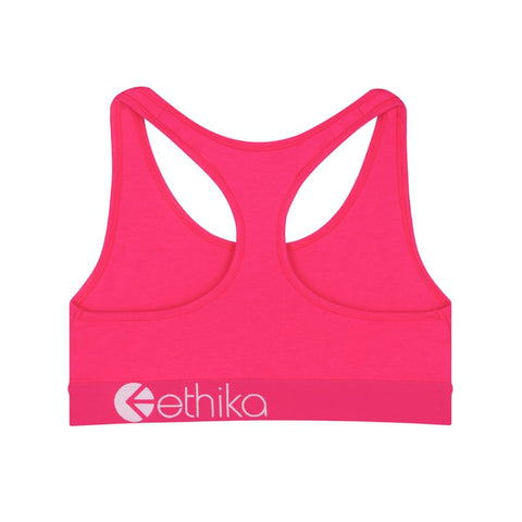 Punk Pink JR Sports Bra
