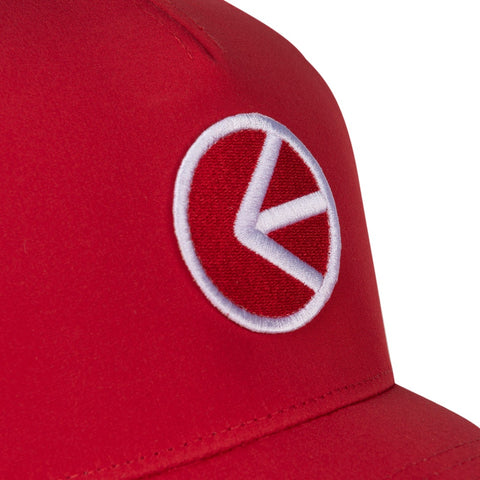 Athletic Dad Hat - Flo Red