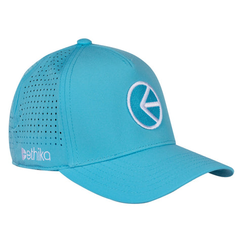 Athletic Dad Hat - Flo Blue