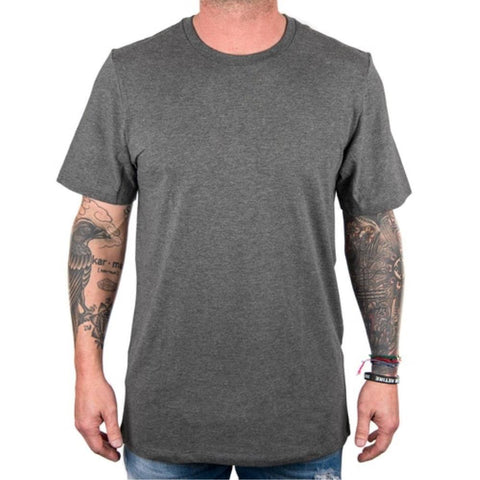 Slim Modal Tee - Heather