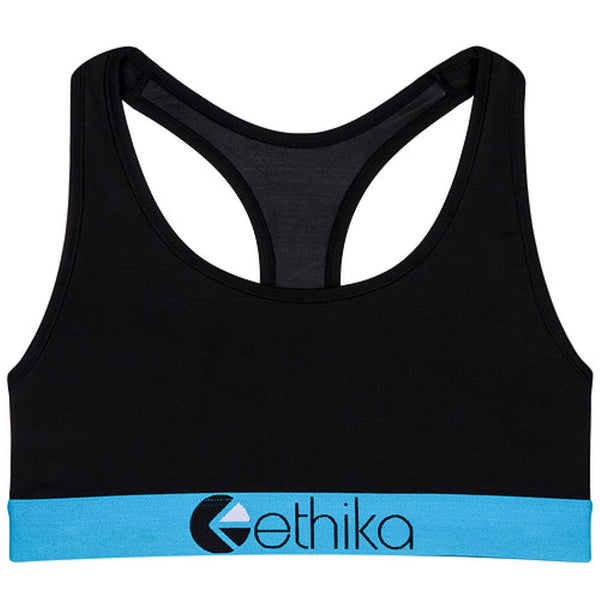 Subzero Blue/Black Sports Bra