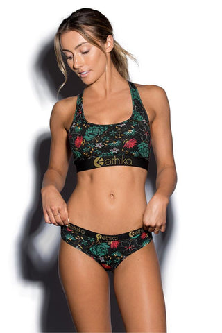 Golden Garden Sports Bra
