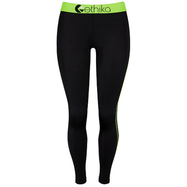 Subzero Green/Black Full Tights