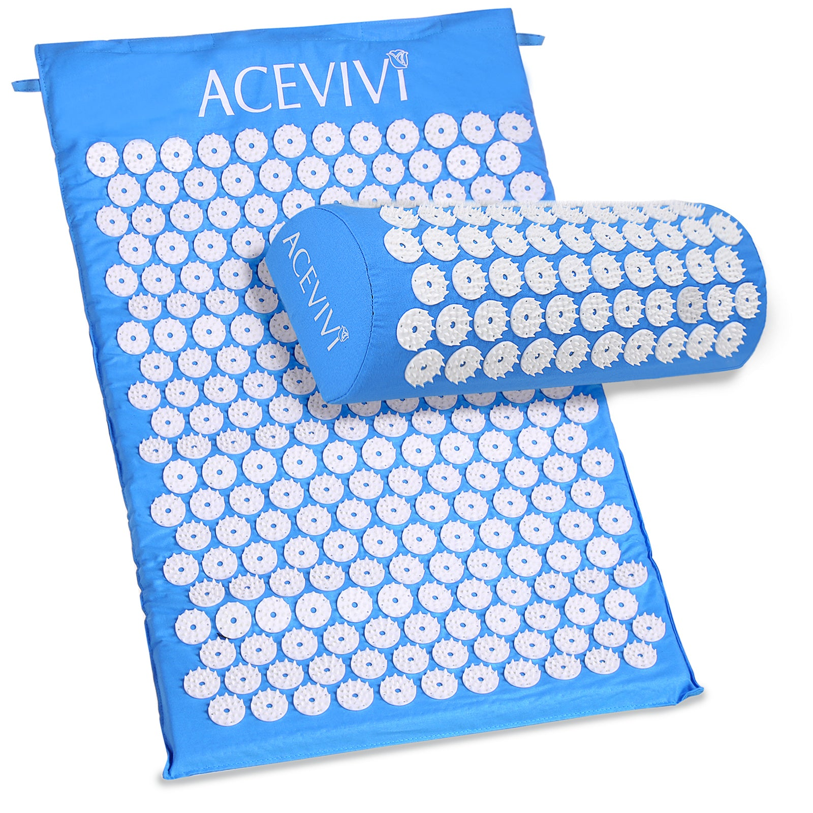 Acupressure Stress Amp Pain Relief Mat With Pillow The