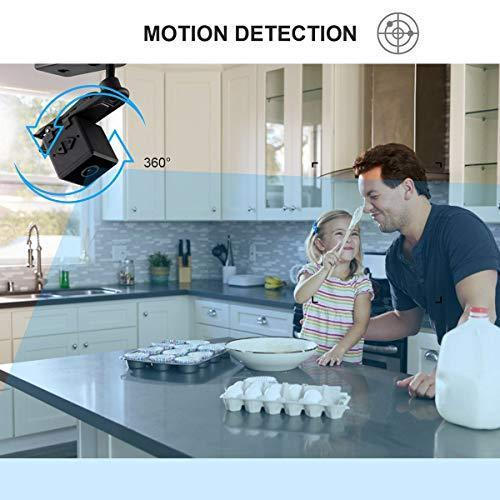 DZFtech Mini Spy Camera Wireless Cop Spy Cam 1080P Spy Camera Wireless Hidden Camera with 32gb sd Card Hidden Spy Camera-No WiFi Needed-Nanny Cam Automatic Night Vision[ Newest Version]