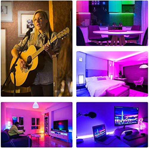 ehomful LED Strip Lights, Ehomful 32.8ft Color Changing RGB LED Tape Light with Remote Controller, Premium 5050 RGB 300 LEDs for Bedroom,Room,Home