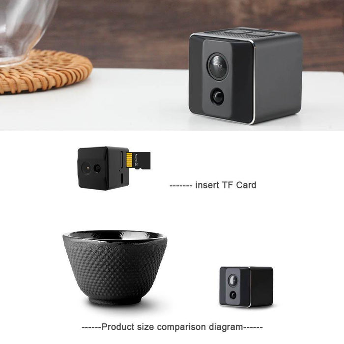 Ehomful The Funny Camera Club body camera E003-Ehomful Mini Fisheye Hidden Camera, Portable and Cute design