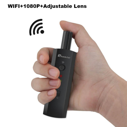 E001-Ehomful Body Worn Wifi hidden Camera, Head Rotatable - body worn camera-Ehomful The Funny Camera Club