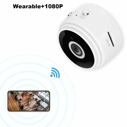 E019-Ehomful Mini WiFi Body Camera ,Wearable and Cute design - hidden camera-Ehomful The Funny Camera Club