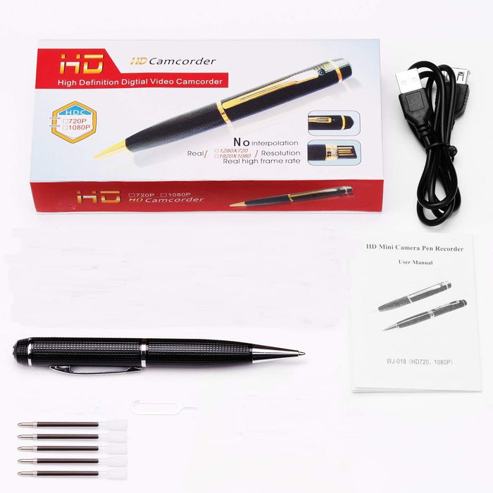 Ehomful The Funny Camera Club Hidden Spy Camera E024-Ehomful Mini Spy Pen Camera  ,Wearable,720P Spy Perfect